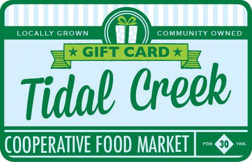 Tidal Creek Coop - Gift Card - Various Amounts