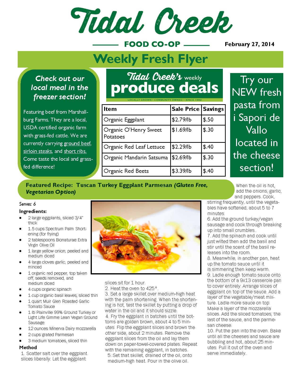 Sample Weekly Fresh Bytes