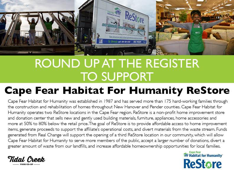 Real Change.Register Sign.ReStore