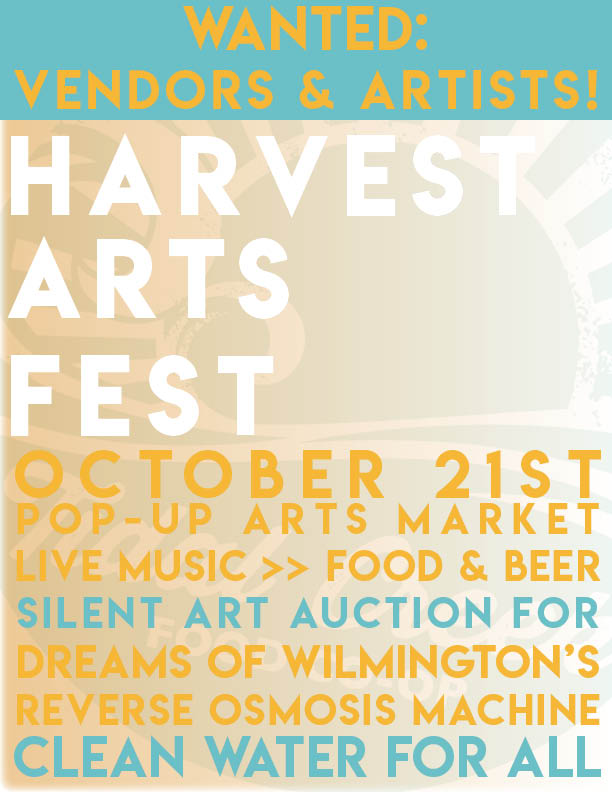 UPDATED! Seeking Silent Auction Donations for Harvest Arts Fest