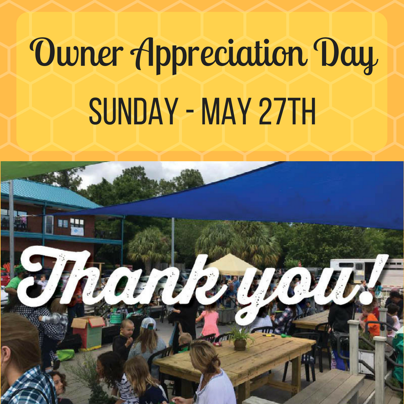 Owner Appreciation Day Thank YOU