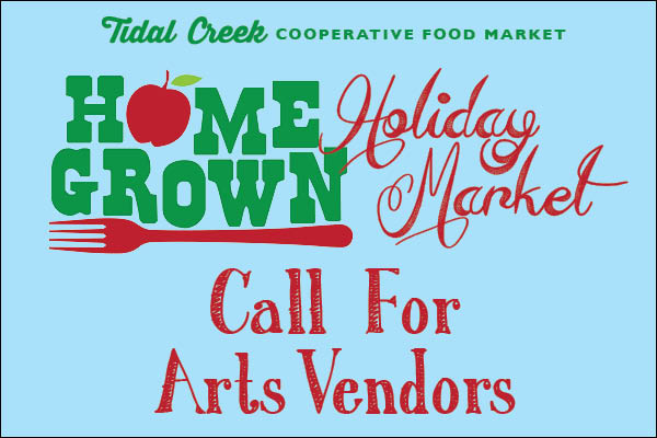 Wanted: Local Artists For Our Home Grown Holiday Market